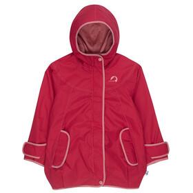 Finkid Lokki Zip-In Jacket Girls Persian Red/Dusty Rose